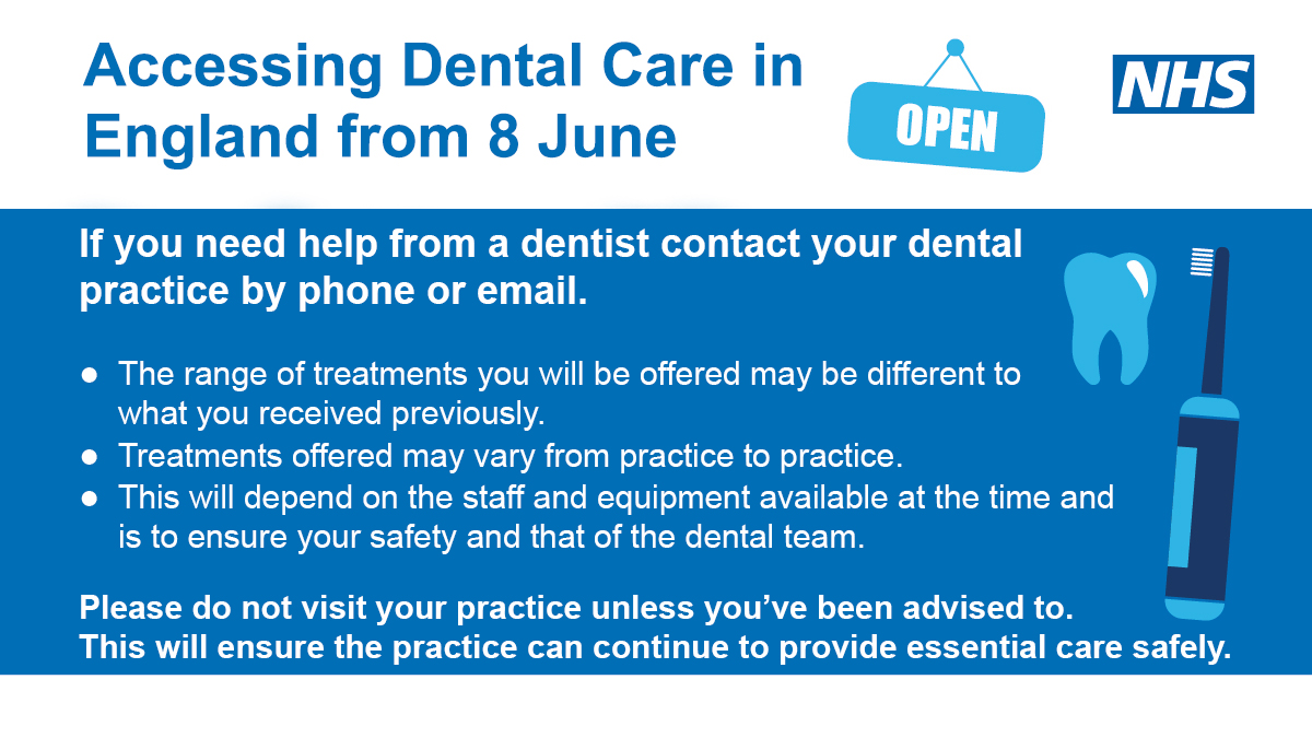 Accessing Dental services